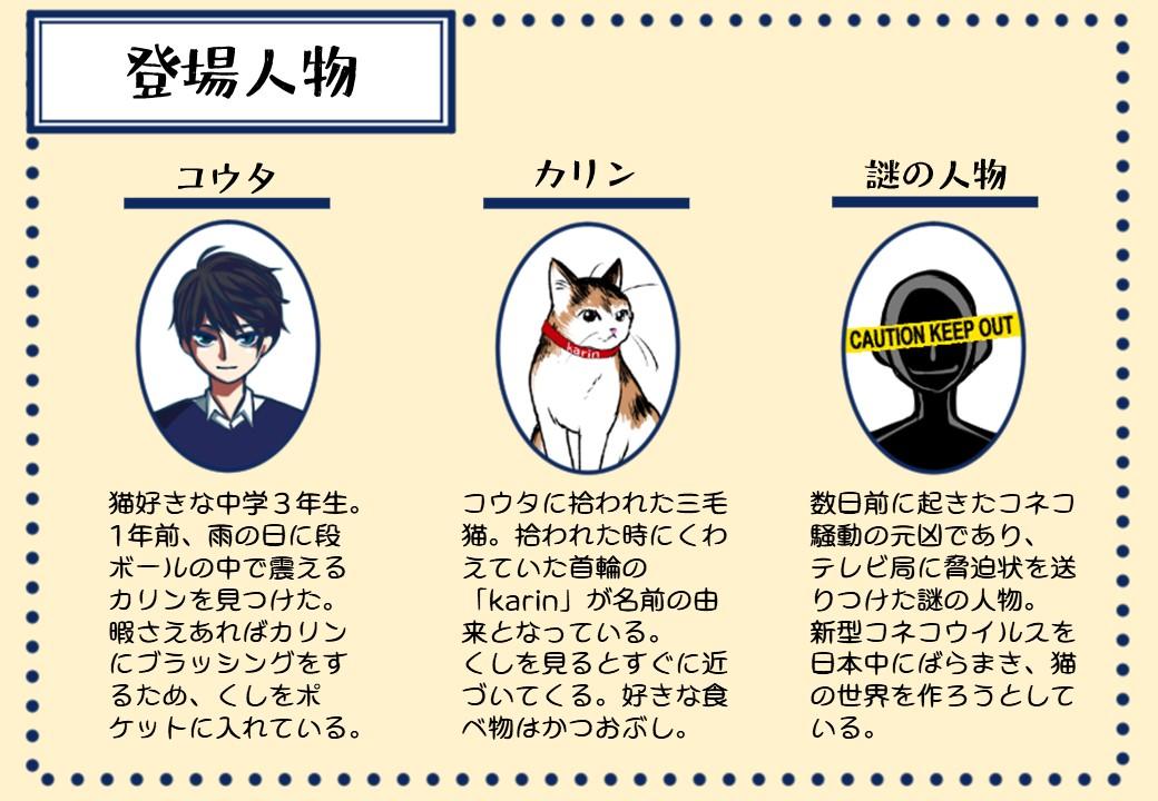 登場人物紹介の画像
